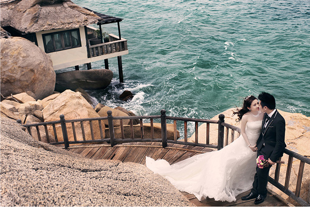 5 Quy tắc lưu ý khi chụp ảnh cưới trên bãi biển