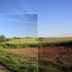 Cách chụp ảnh bầu trời xanh