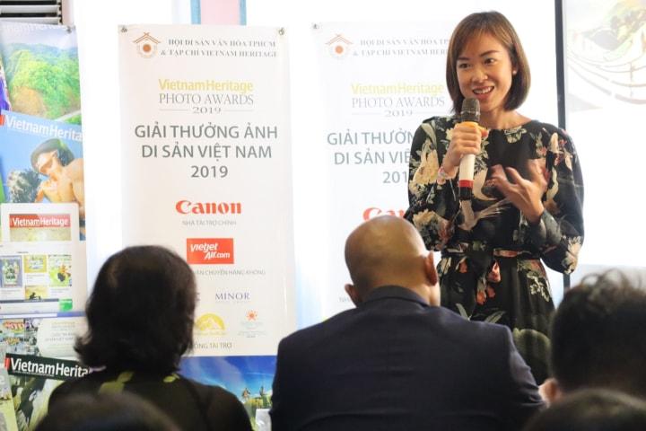 Hình ảnh trao giải cuộc thi ảnh di sản Việt Nam 2019