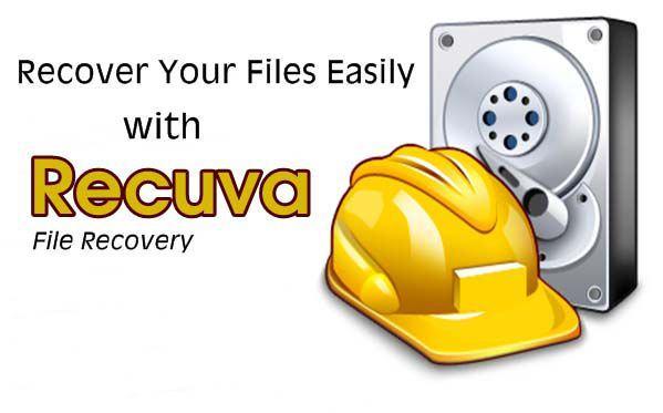 Phục hồi dữ liệu bị xóa với Recuva Pro