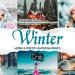 Miễn phí 15 preset Lightroom Pc Moblie Camera raw tone mùa đông