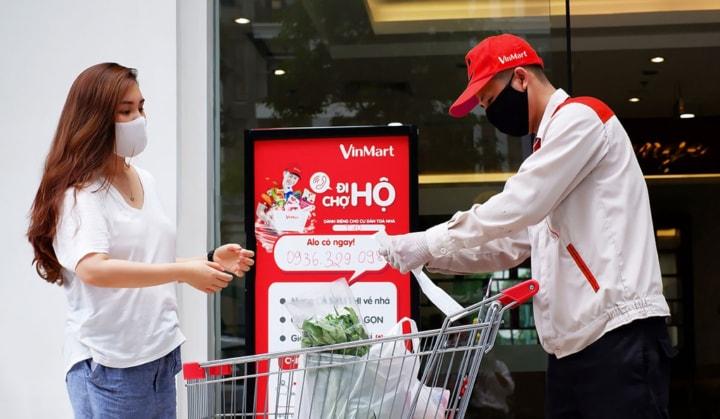 Danh sách điểm siêu thị Vinmart Đà Nẵng đi chợ hộ