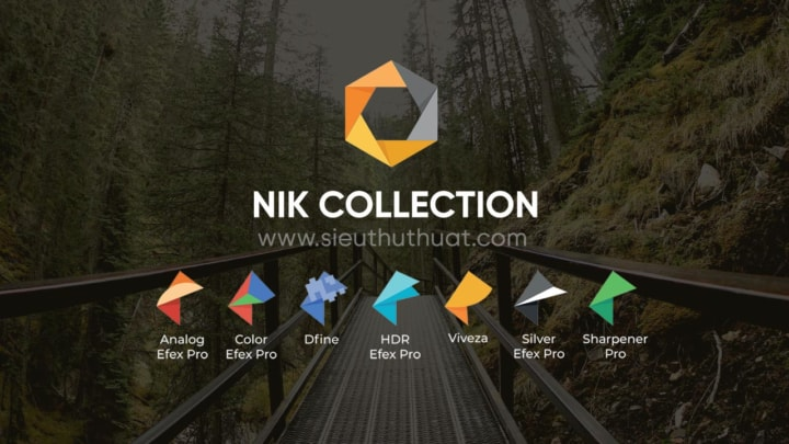 Tải nhanh Nik Collection by DxO 4.1.1.0 link drive