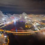 Ngắm bộ ảnh đẹp Đà Nẵng trong sương