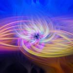 Action tạo xoáy nhiều màu trong photoshop